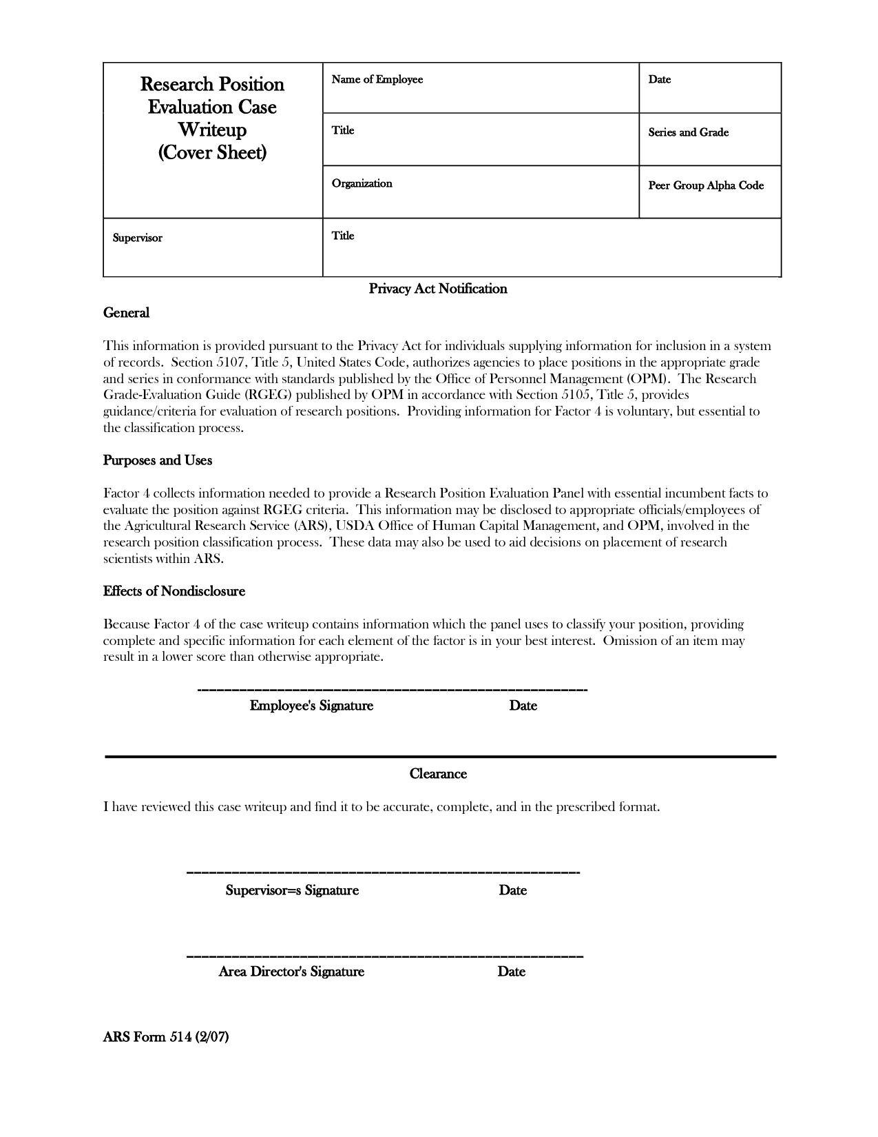 Write Up Template. training development of employee write up ...