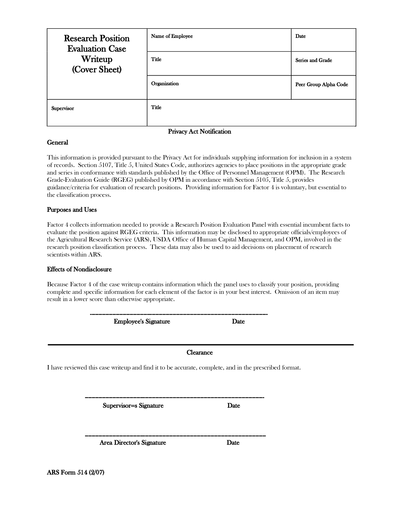 emloyment write up employee write up form download Brian Harrell