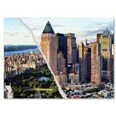 Found it at Wayfair - Central Park in Town by Philippe Hugonnard Graphic Art on Wrapped Canvas