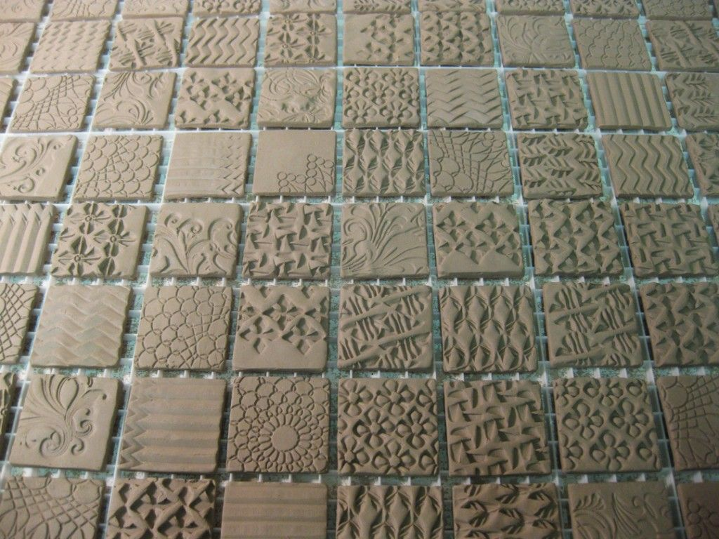 Textured tiny tiles ceramics videos and technique pinterest textured tiny tiles dailygadgetfo Images