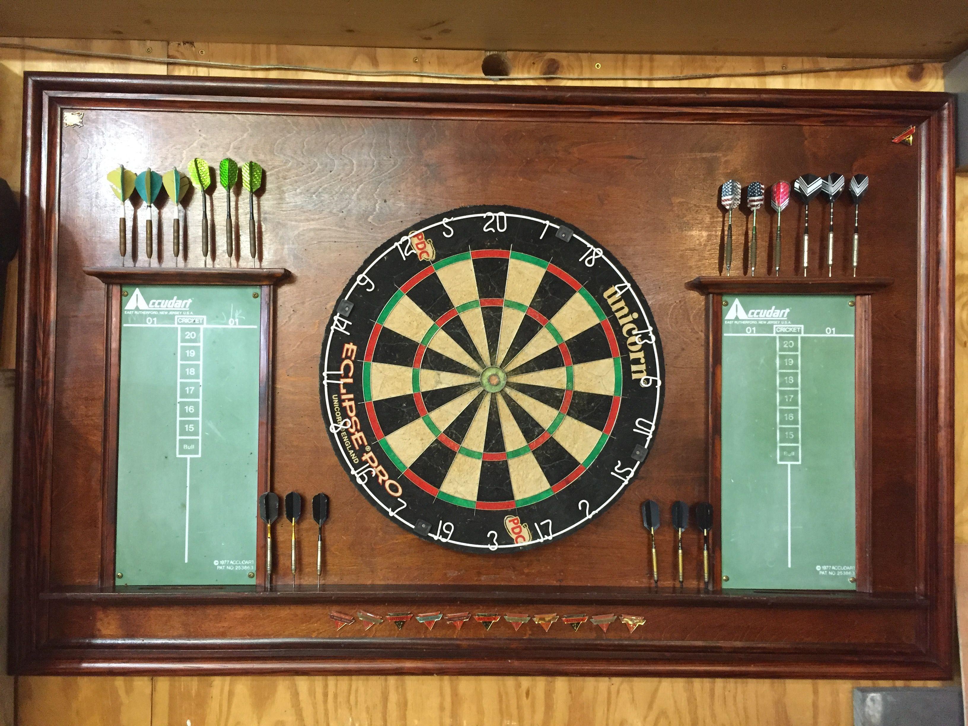 English Pub Style Dart Board Created By Mitchell Longmeyer Dart Board New Homes Village Inn