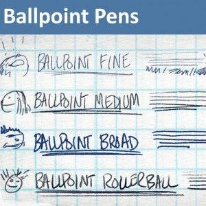 Ballpoint Pens - 4 Photoshop Ballpoint pen Brushes | Tools