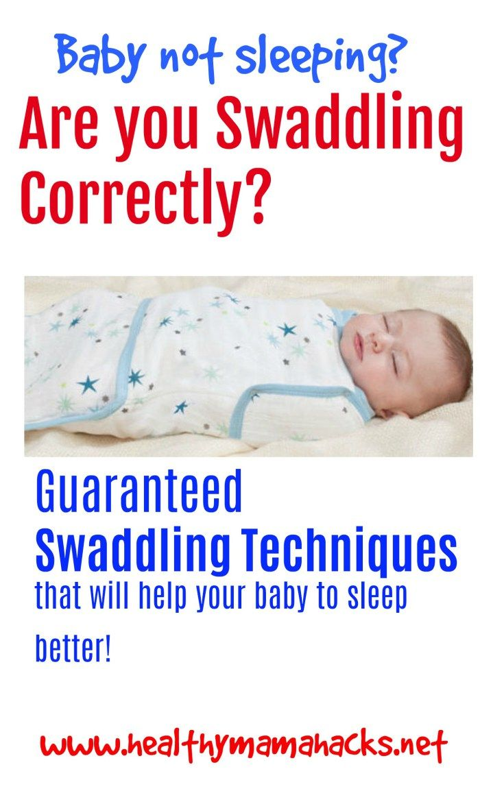 How to Swaddle Your Baby Like a Pro: Swaddling Tips for ...
