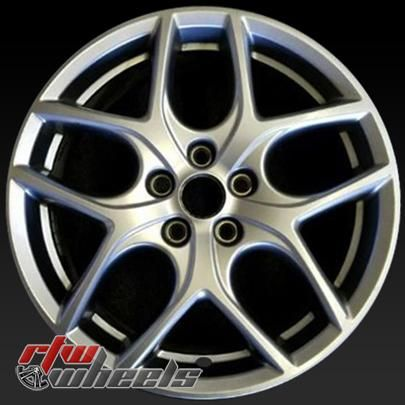 17 Ford Focus Oem Wheels 2015 2017 Silver Alloy Factory Rims