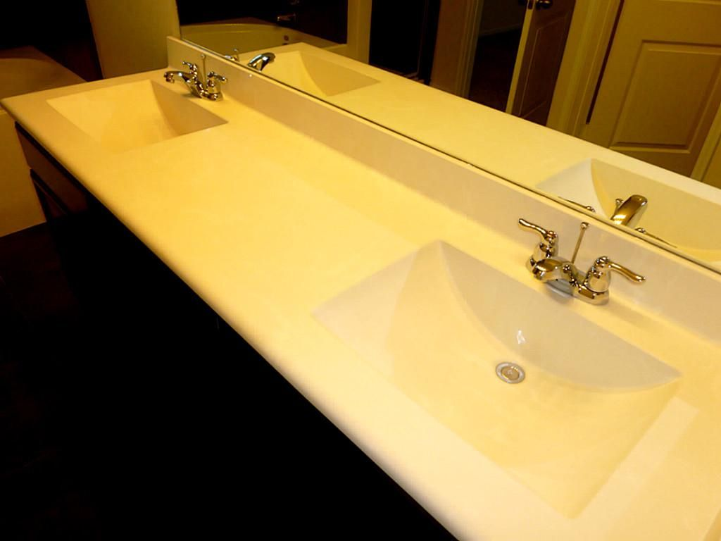 Cultured Marble Square Double Sink Google Search With Images