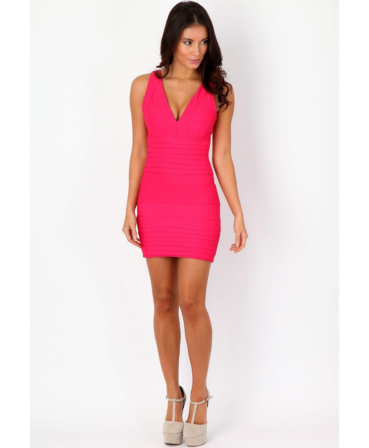Leena Bodycon Contour Dress - dresses - missguided