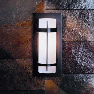 Hubbardton Forge Banded Outdoor Flush Mount Bulb Type (1) 100W A-19