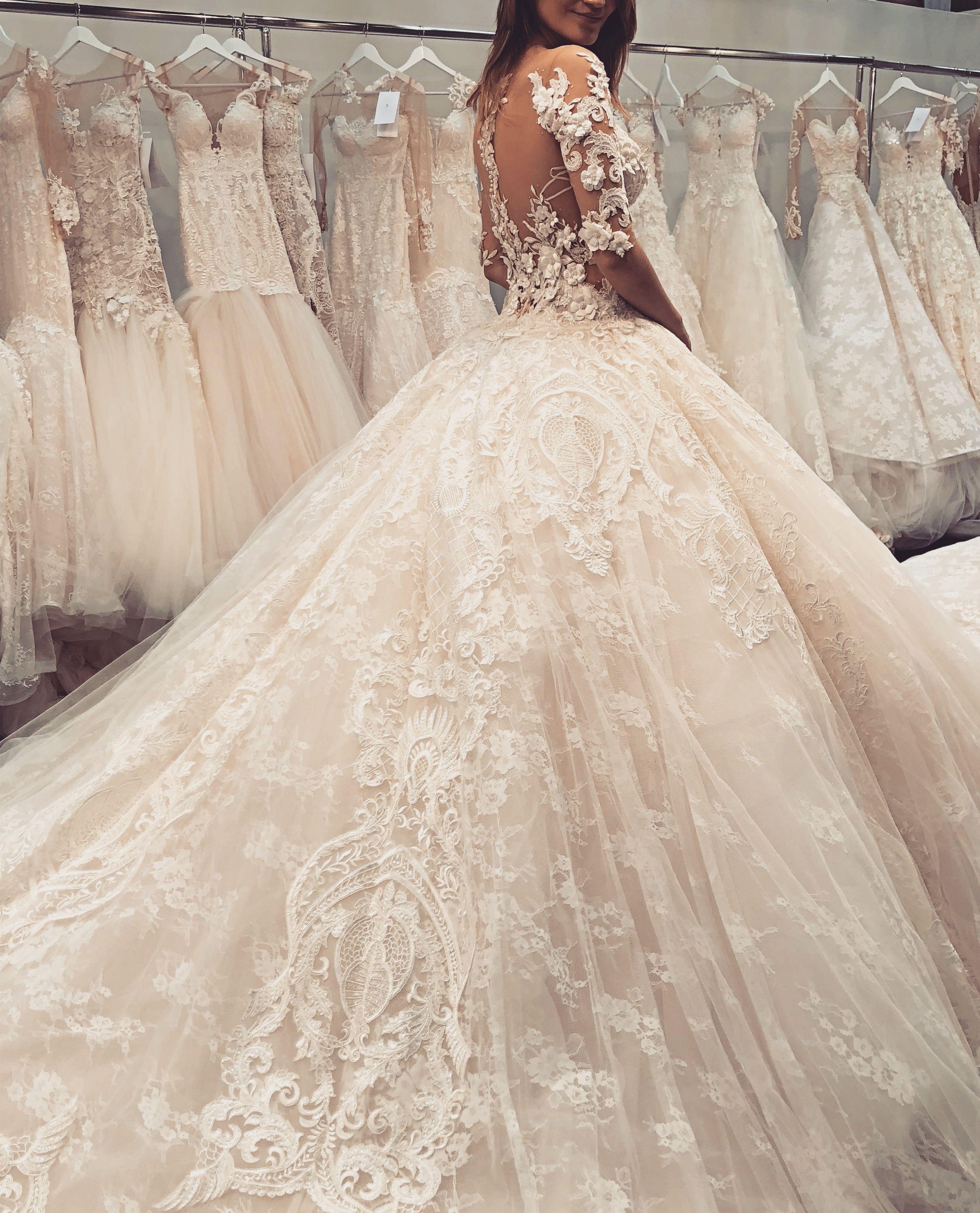 Brautkleid Tüll u. Spitze, Traum Prinzessin Kleid  Boda
