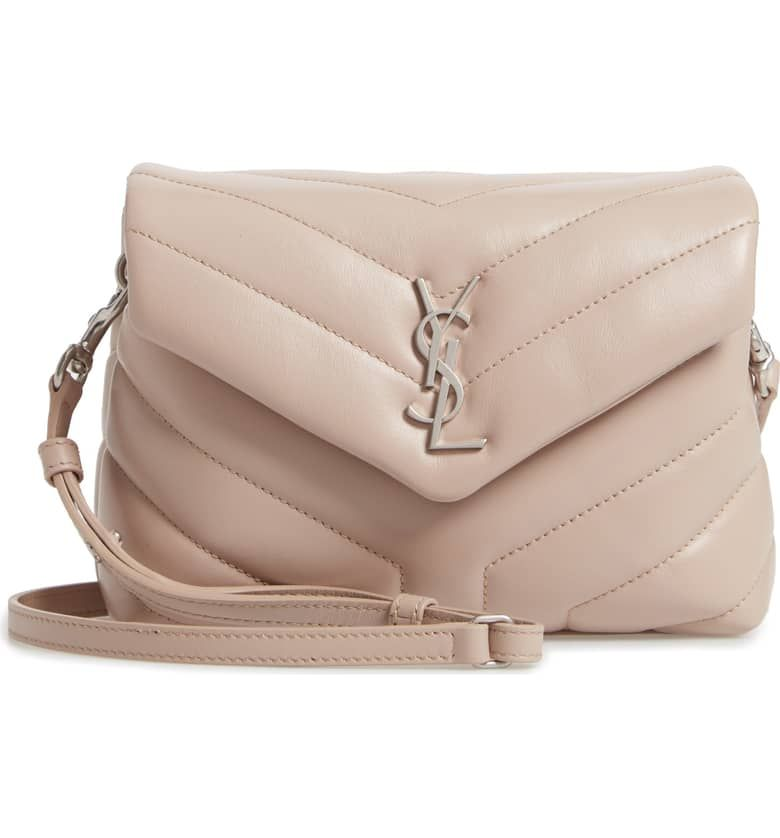 98f7272f Toy Loulou Calfskin Leather Crossbody Bag, Main, color, LIGHT ...