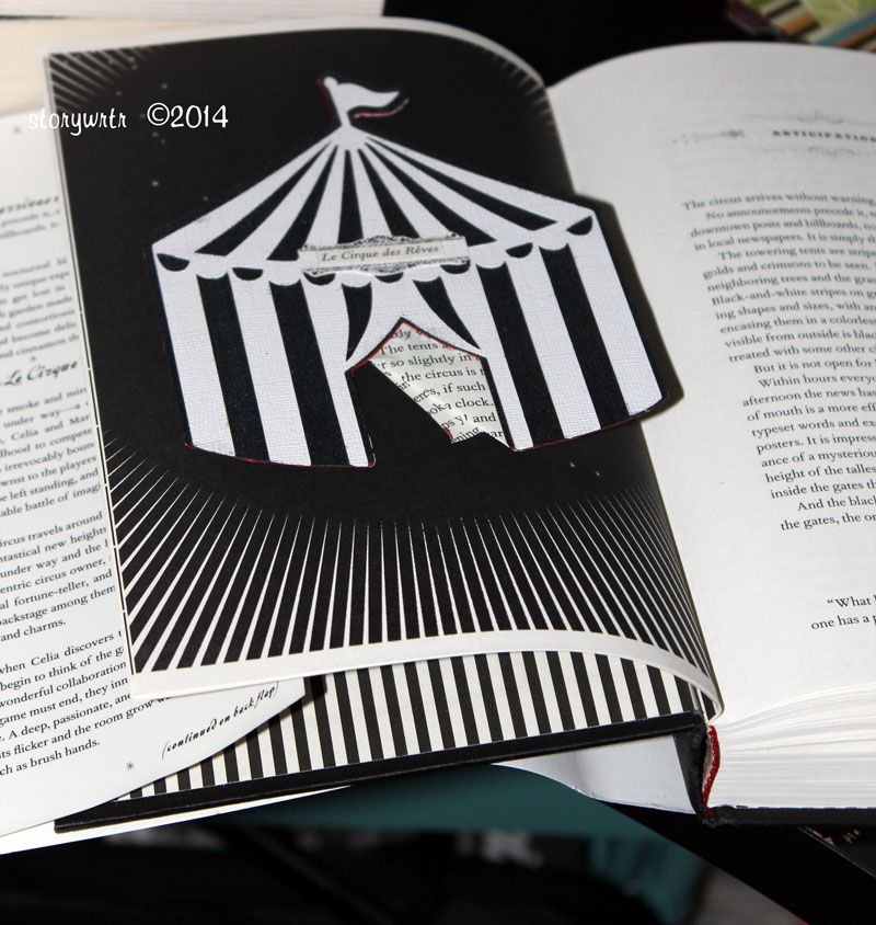 Used a die cutter for the circus tent and a page from the paper back & Used a die cutter for the circus tent and a page from the paper ...