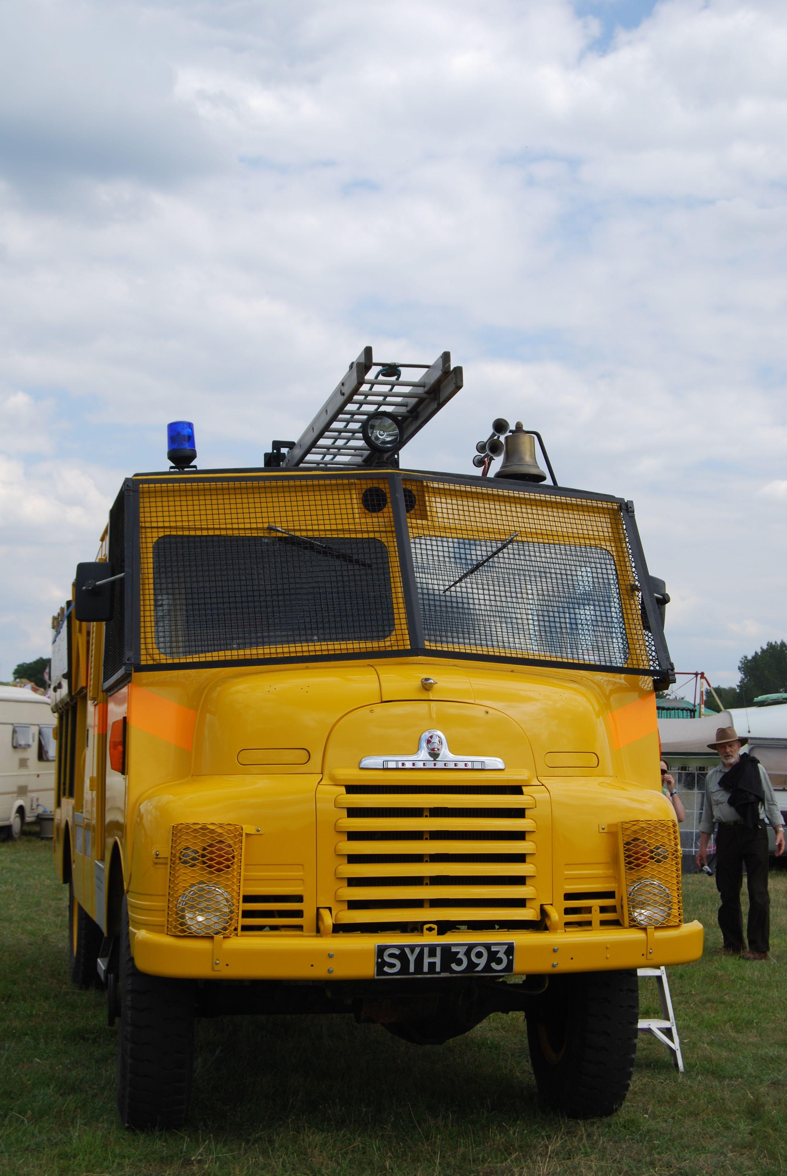 Bedford Emergency Pump (Yellow Goddess) Reg. No. SYH 393