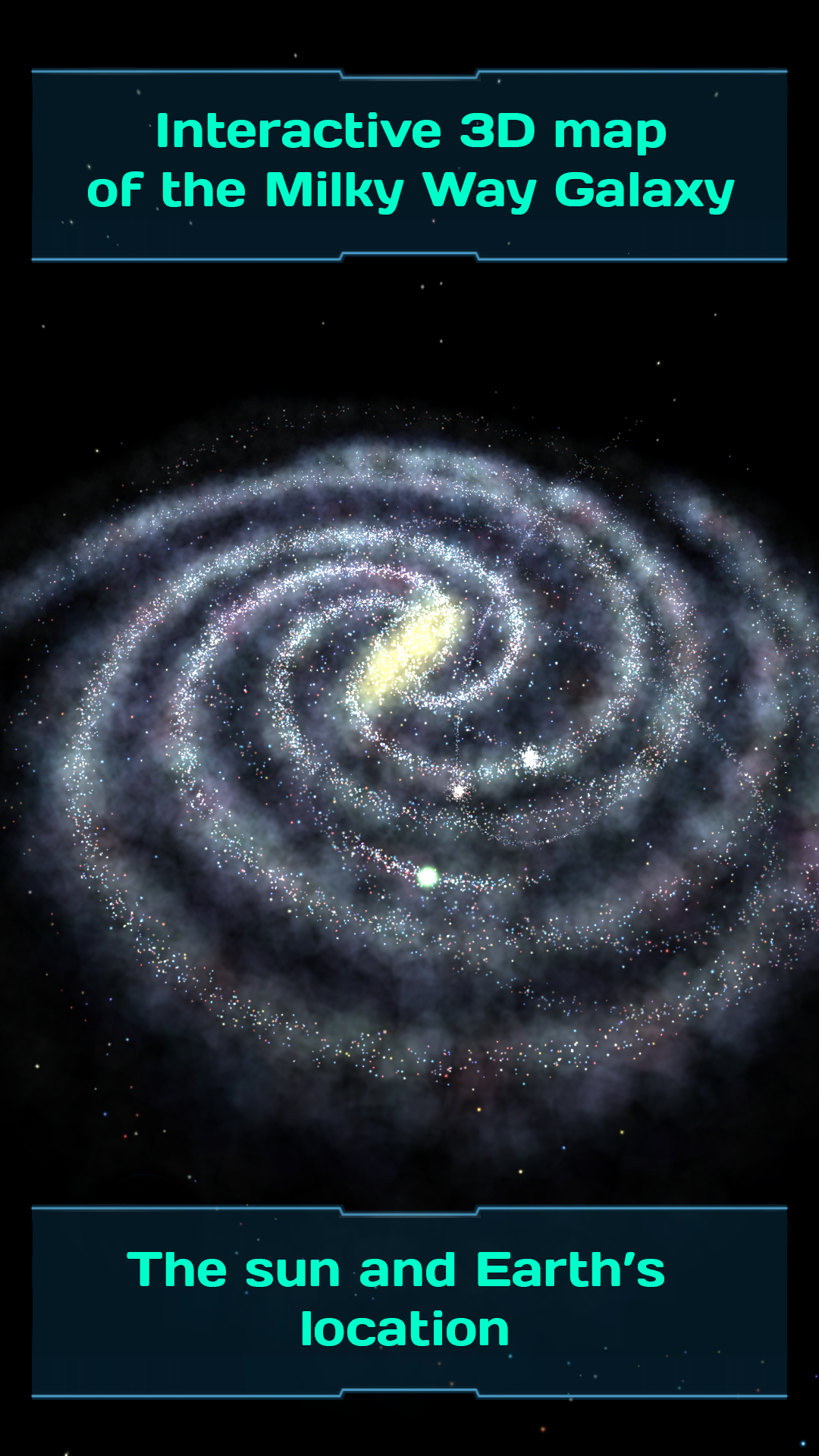 Milky Way Galaxy Map Interactive 3D Map of the Milky Way Galaxy | Galaxy Map  Milky Way Galaxy Map