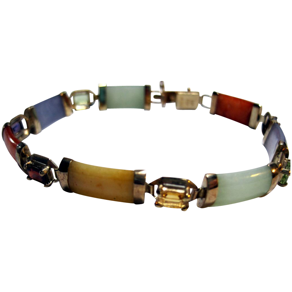 Multi Colored Jade Bracelet Best Bracelets