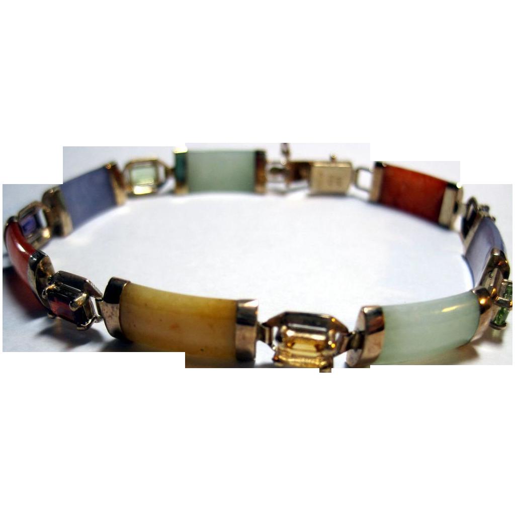 Multi Colored Jade Bracelet Best Bracelets