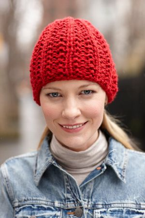 Image of Lively Hat - free pattern | Moda II | Pinterest | Gorros