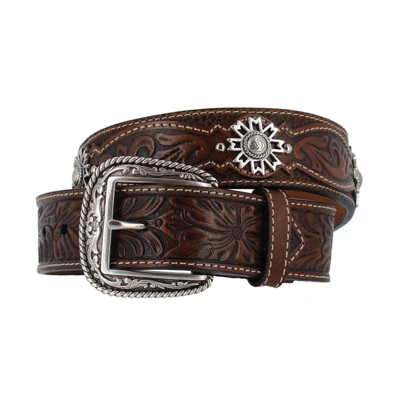 Nocona USA Western Cintura Cowboy Cowgirl Maroon