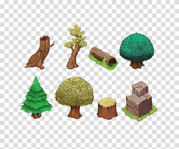 Tree Isometric Graphics In Video Games And Pixel Art Tile Based Video Game Sprite Forest Tree Transparent Background Png Clipart Pixel Art Isometric Tile Art