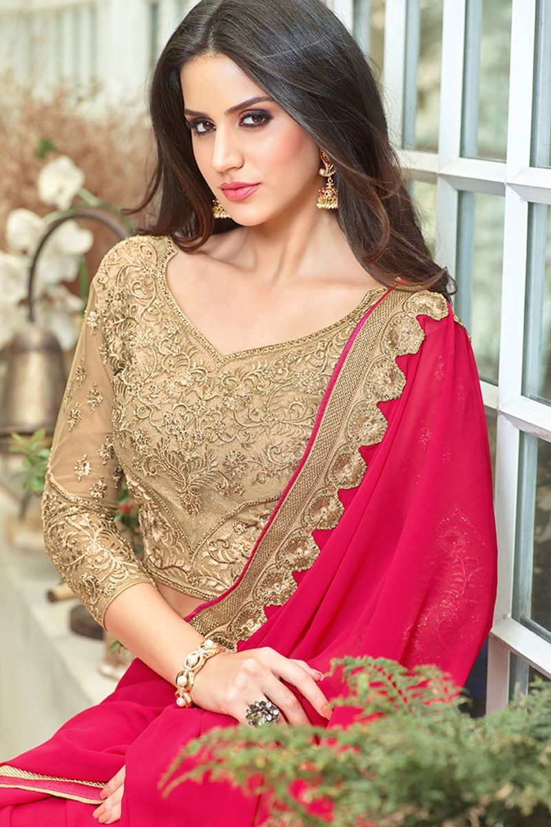 Pin by axar on Models145 Saree designs, Saree, Gowns online