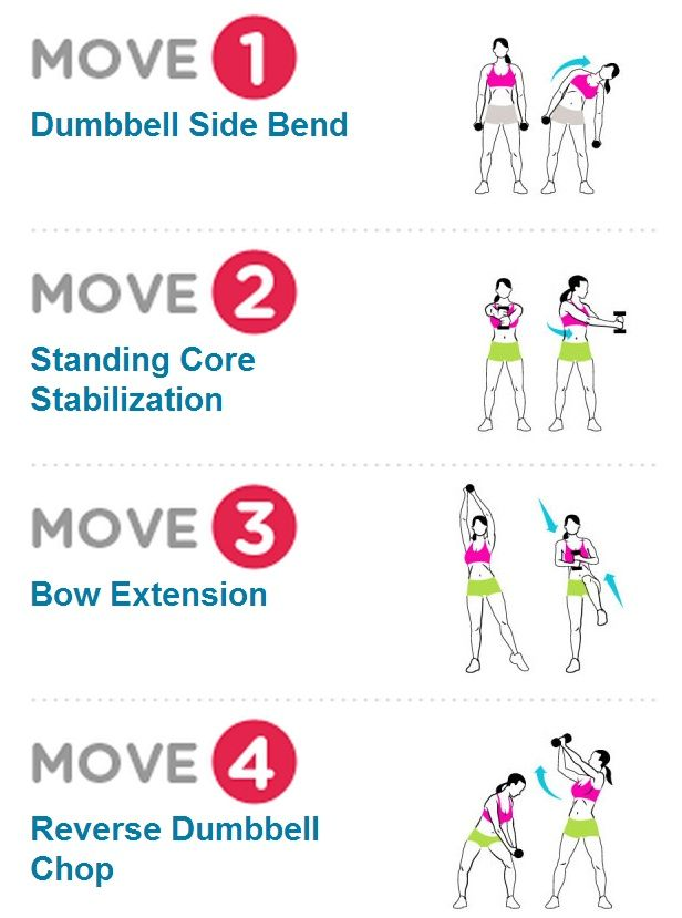 Great standing ab workout!