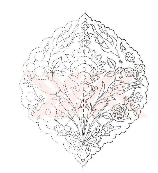 Turkish Motifs and patterns | Desen 2 | Pinterest | Colgantes ...