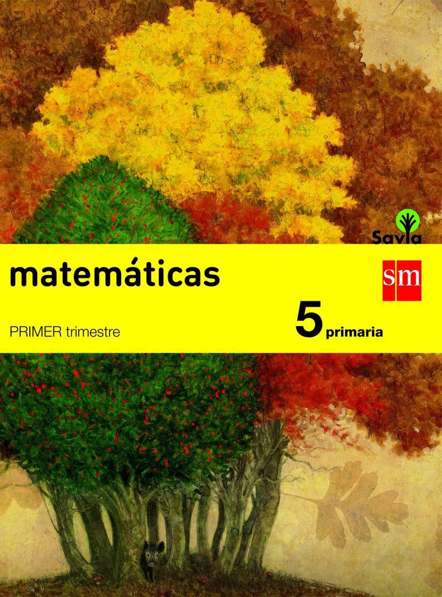 Proyecto Savia - Matem U00e1ticas - 5 U00ba Primaria