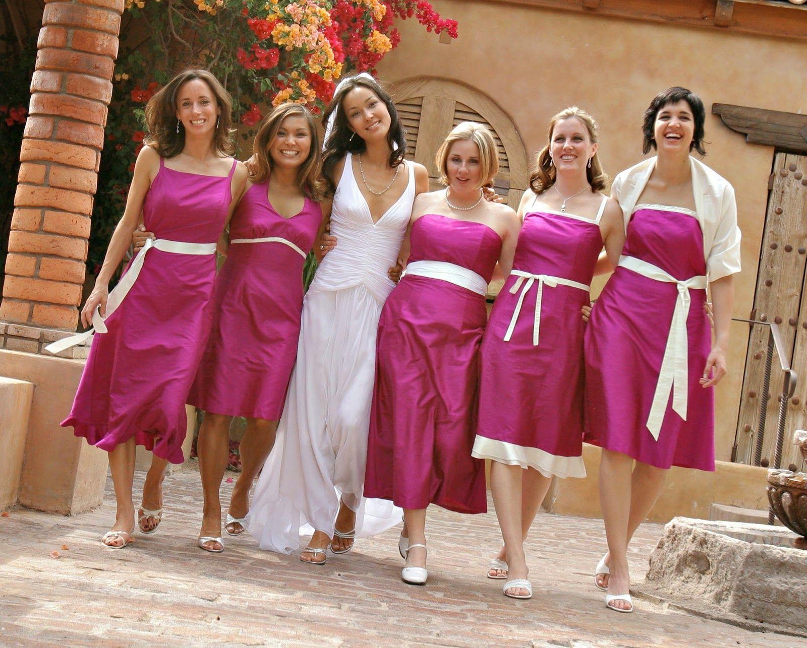 Increíbles vestidos de damas de honor | Tendencias | Bridesmaids ...