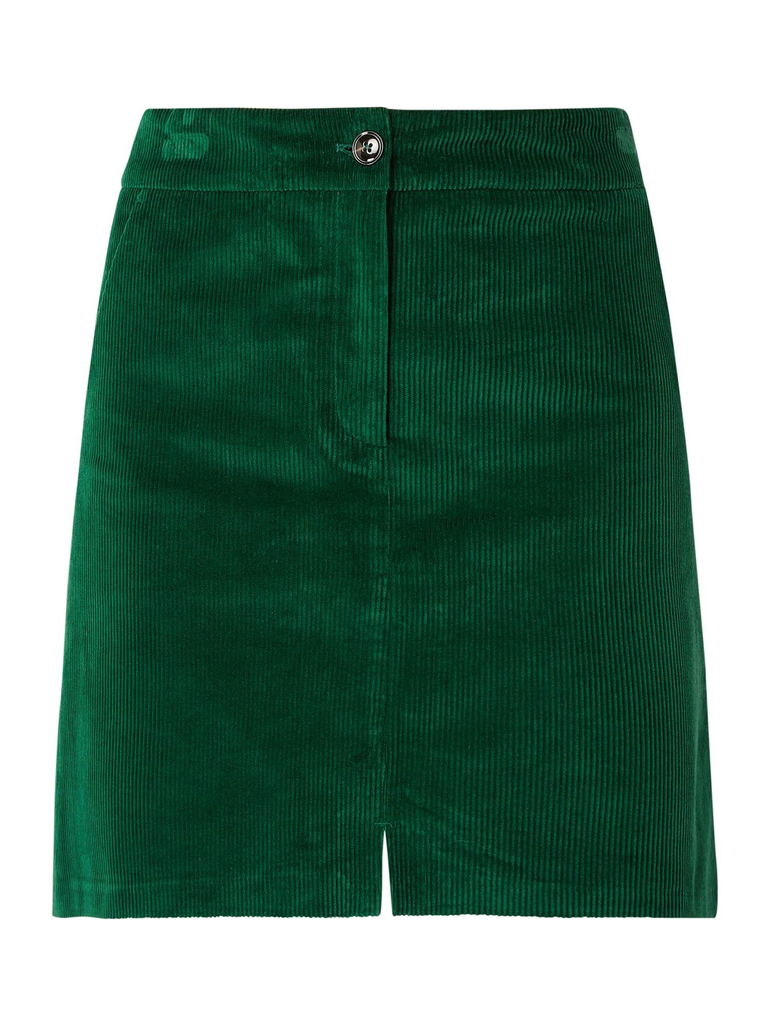 7590a20930 Bei ➧ P&C Mini-röcke von MARC-O-POLO ✓ Jetzt MARC-O-POLO Minirock aus Cord  in Grün online kaufen ✓ 9855028