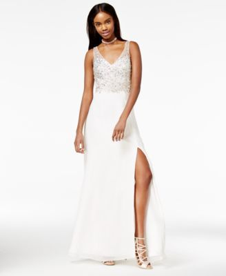 70288b8845 Say Yes to the Prom Juniors  Rhinestone Gown