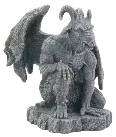 Dysfunctional Doll Occult Baphomet Goat Head Statue