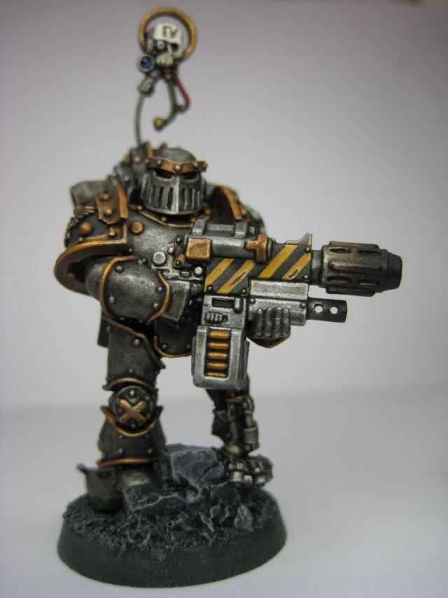 Iron Warriors Space Marines
