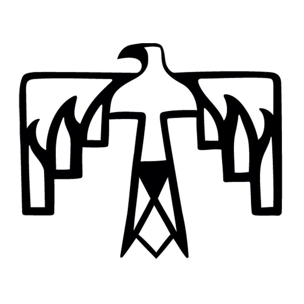 Native American Thunderbird Vinyl Decal Window Sticker Car Graphic