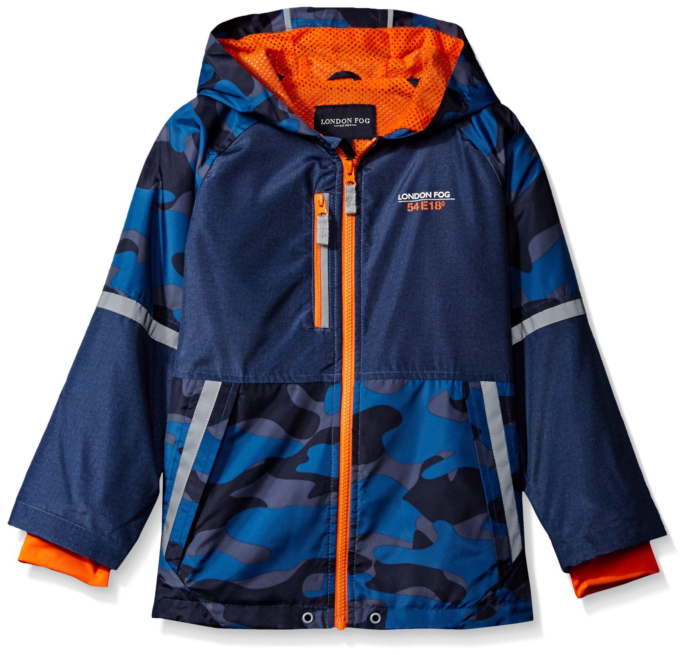 42d8648d7eea Amazon.com  London Fog Boys  Camouflage Print Jacket  Clothing ...