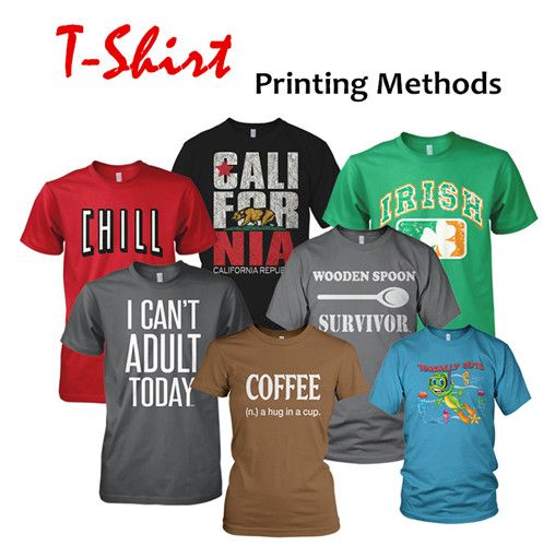 Types of Tee Shirt Printing Methods from NYFifth