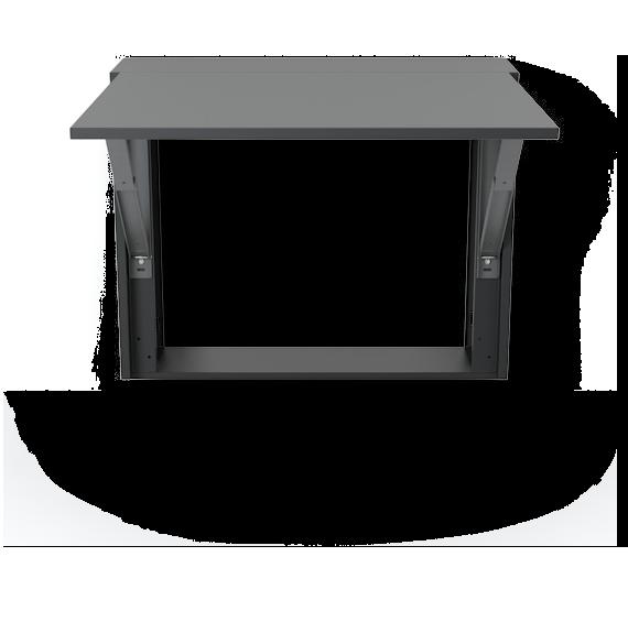 Mesa abatible y cubre radiador de dise o modelo london - Cubre escritorio ...