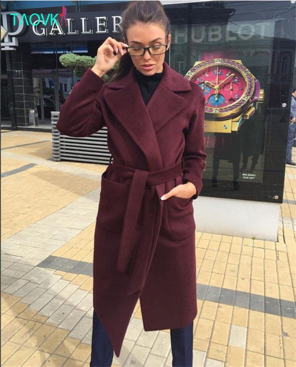 #aliexpress, #fashion, #outfit, #apparel, #shoes #aliexpress, #TAOVK, #fashion, #Russia, #style, #Women, #Winter, #section, #lapel, #trench