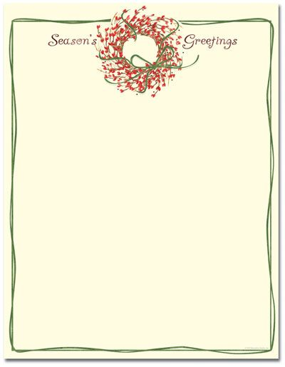 Free Christmas Letter Templates  Christmas Letters Template And