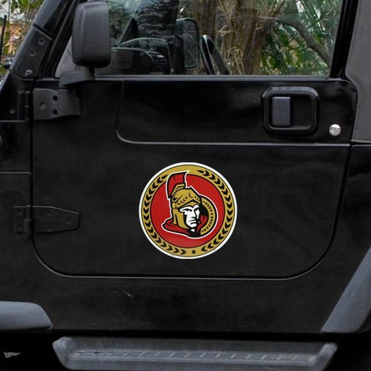 """Ottawa Senators 12"""" Team Logo Car Magnet - $11.99"""