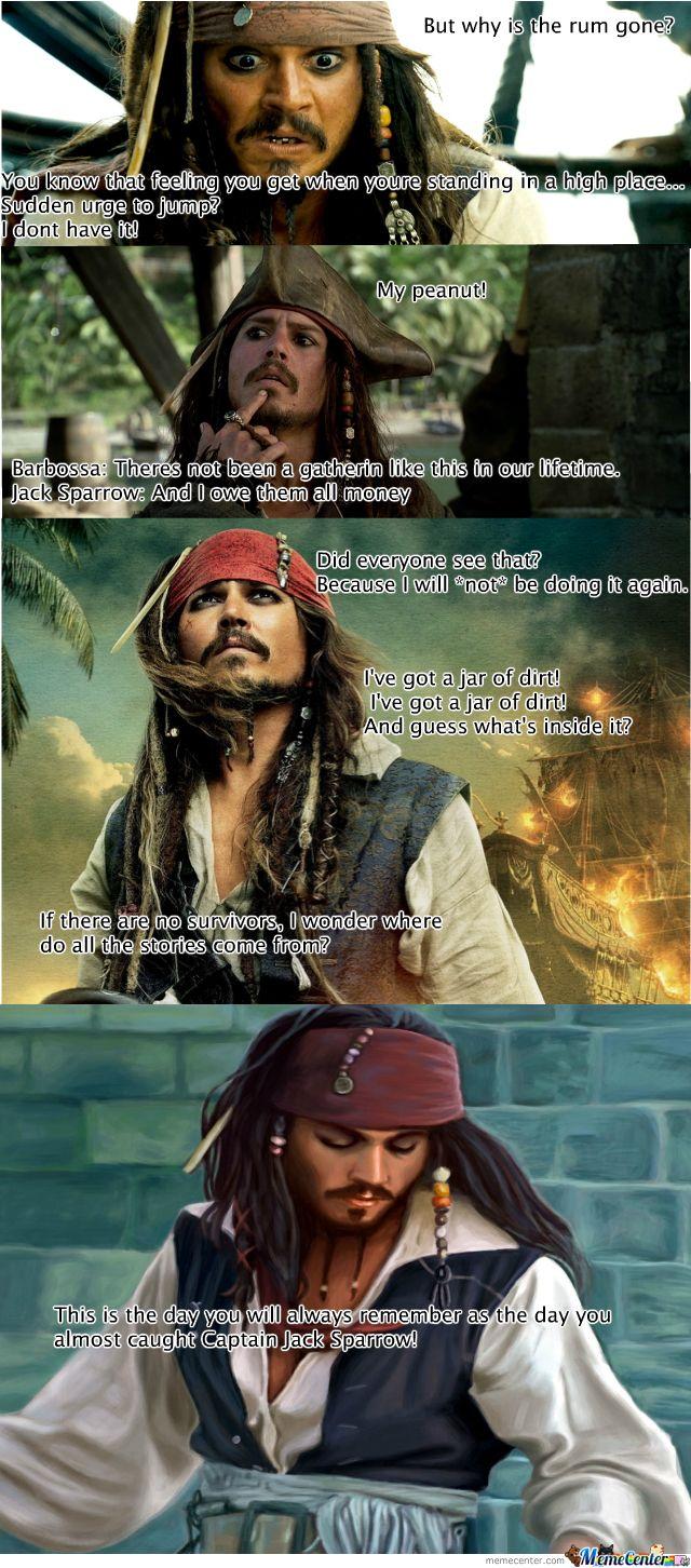Jack Sparrow Quotes #1 | Jack sparrow quotes, Jack sparrow