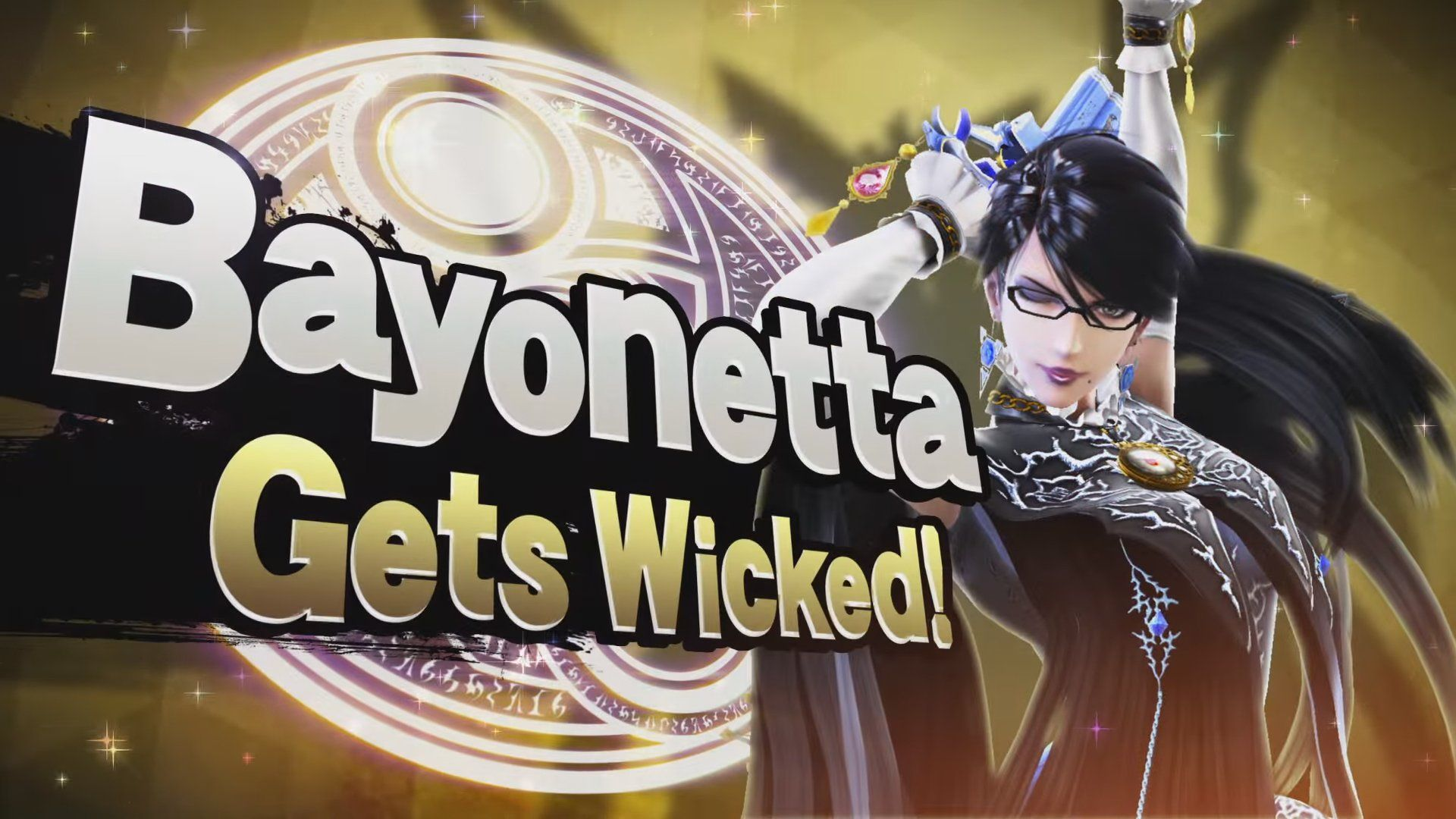 Hair attack bayonetta