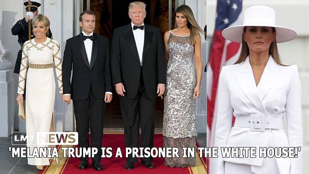 Melania Trump is a prisoner in the White House! LMT News