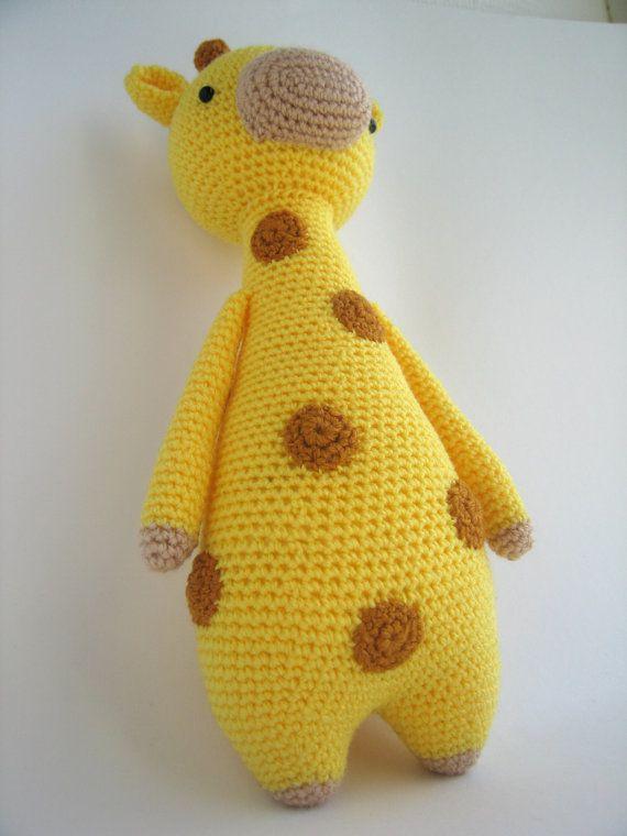 Giraffe Crochet Amigurumi Pattern   animales   Pinterest   Jirafa ...