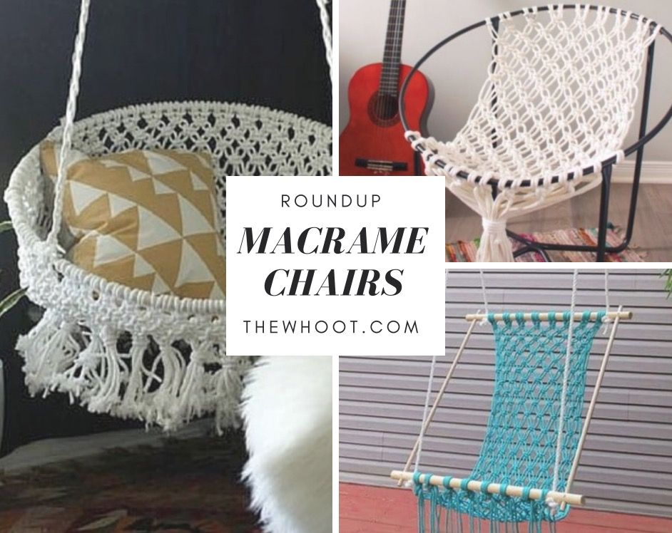 Macrame Hanging Chair Diy Is Super Easy To Make With Images