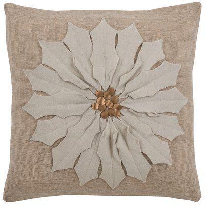 Wildon Home  Cyntra  Pillow Color: White