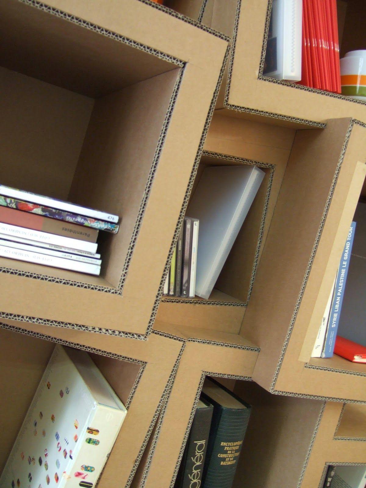 Meuble En Carton Etagere Et Bibliotheque Vous Choisissez La