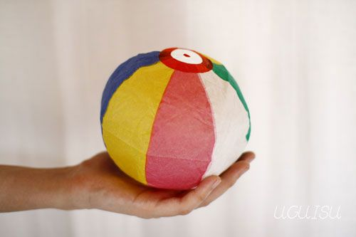 Japanese paper balloons pack of 5 with shipping 11 beach