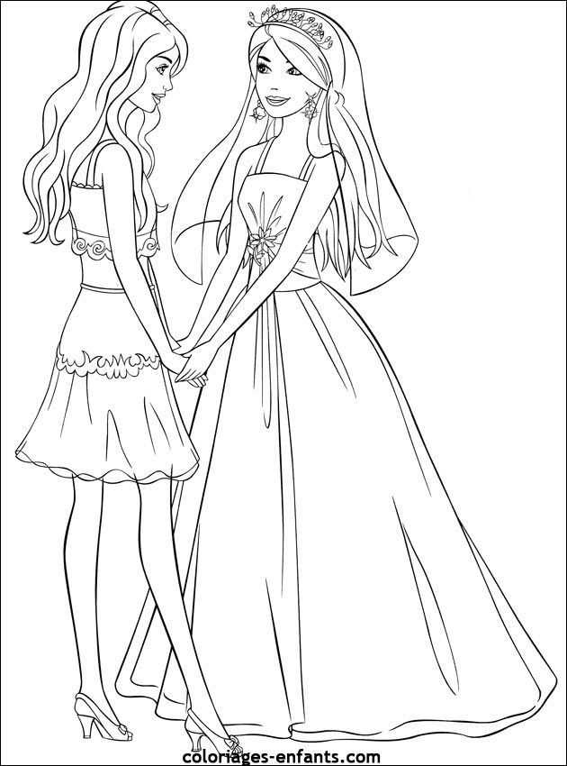 coloriage #85347 dessin mariage à colorier | Female sketch, Art, Coloring pages