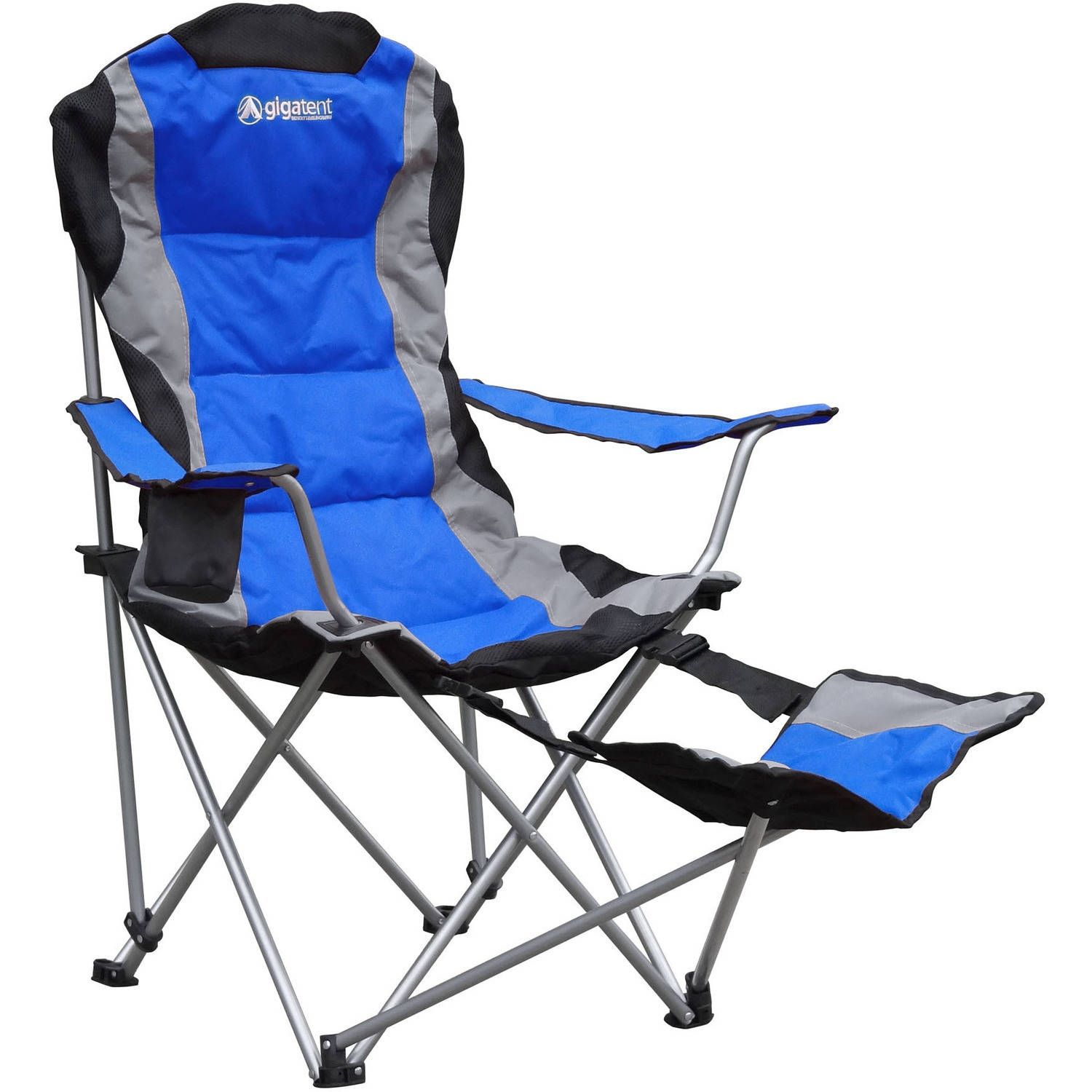Folding Camping Chair With Leg Rest