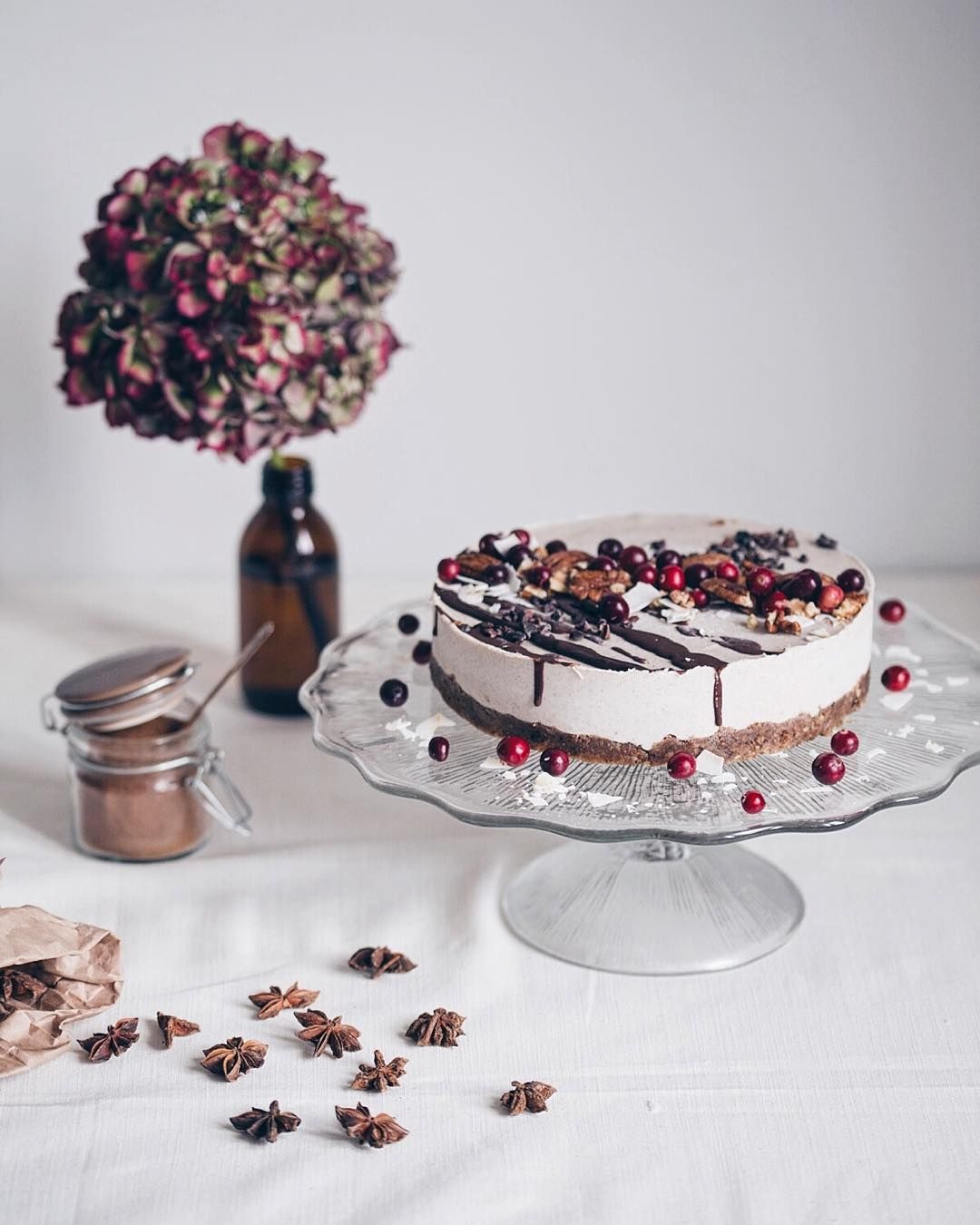 New recipe Raw Vegan Gingerbread Cake! Delicious and festive hellip