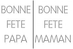 Bonne fête Maman/Papa | Bon fete maman, Bonne fête, Carte fête des ...
