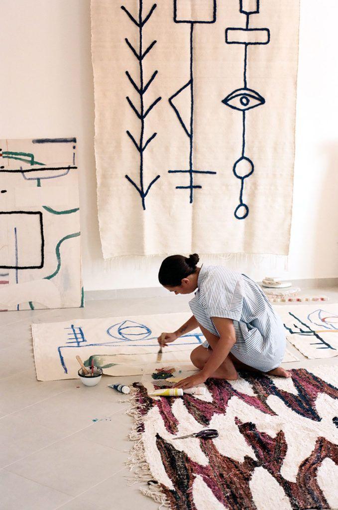 Inside Laurence Leenaert's Marrakesh Studio – WALL ART